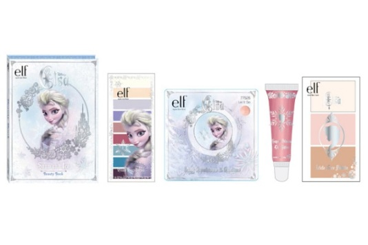 "Renderings of the E.l.f. color collection inspired by ""Frozen"""