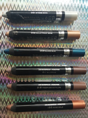 Rimmel London Scandaleyes Shadow Sticks 1