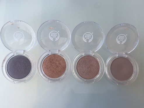 The Body Shop Colour Crush Eyeshadows 1