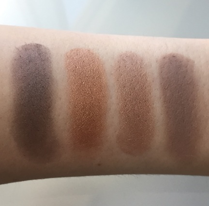The Body Shop Colour Crush Eyeshadows Swatches 1