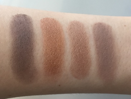 The Body Shop Colour Crush Eyeshadows Swatches 2