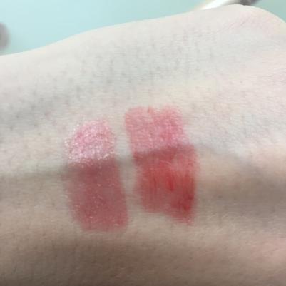 Revlon Lip Butter Candy Apple & Peach Parfait Swatch