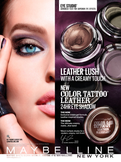 Maybelline Color Tattoo Leather